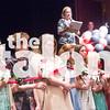Seniors cut their roses and walk down the hall.  Sunday at Argyle High School in Argyle , Texas. (Photo by: Faith Stapleton)