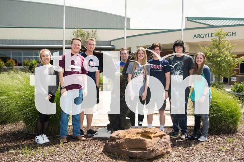 Perfect Attendence,  Argyle High School on 3/23/12 in Argyle , Texas. (Faith Stapleton/ The Talon News)