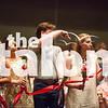 Seniors and family celebrate a Rose Ceremony at Argyle High School in Argyle , Texas, on May 22, 2018. (GiGi Robertson / The Talon News)