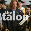Class of 2018 practices for their big day with a practice graduation at Argyle High School in Argyle, Texas , on May 21, 2018. (GiGi Robertson / The Talon News)