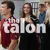 The class of 2019 practices at Graduation Rehearsal at Argyle High School in graduation day. (Jordyn Tarrant / The Talon News)