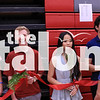 Seniors cut roses during the ceremony at Argyle High School, in Argyle,TX. May 22, 2019, (Katy McBee / The Talon News)