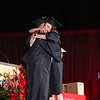 Graduates walk the stage and revive their diplomas at the Gaylord in Grapevine, TX. (Nick West | The Talon News)