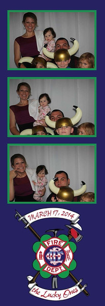 Chicago Fire Department Graduation Photobooth