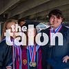 The class of 2020 graduates at the Texas Motor Speedway, on May 19, 2020. (Alex Daggett | The Talon News)