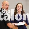 The seniors practice for Graduation on May 31, 2016 at Argyle High School in Argyle, TX. (Faith Stapleton/ The Talon News)