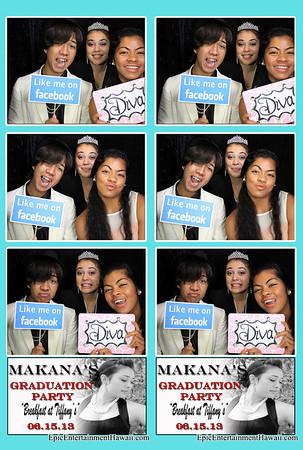 Makana's Graduation Party
