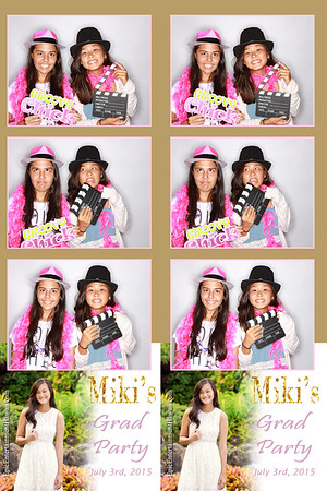Miki's Graduation Party