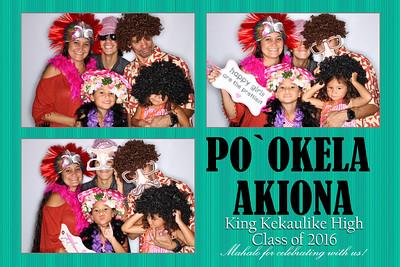 Po`okela's Grad Party