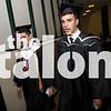 Senior students attend graduation at University of North Texas in Denton, Texas.