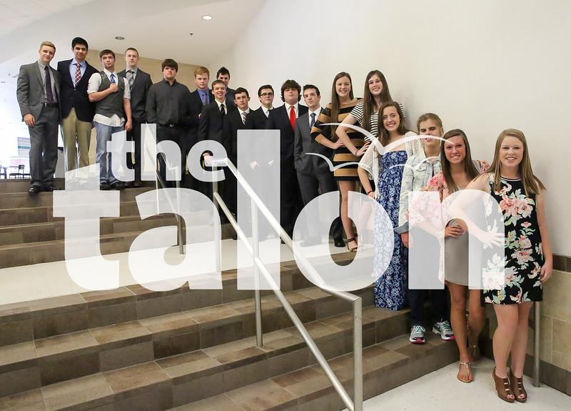 Several seniors dress sharply for their second to last day at Argyle High School in Argyle, Texas on May 21, 2015. (Annabel Thorpe / The Talon News)