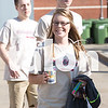Seniors pose for some photos at Argyle High School on May 17, 2015. (Photo by Caleb Miles/ The Talon News)