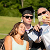 Zachary Favre gets close to his family for a selfie.