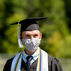 """Salutatorian John Muzuruk reminded his classmates that the pandemic has made us better appreciate cashiers, janitors, teachers, first responders, and others, calling on the Class of 2020 to """"look to everyone you can thank and take your time to do so."""""""