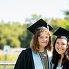 Ronni Gorr and Olivia Hendrickson come in close for a photo.