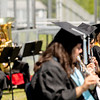 Class Treasurer Nikita Parikh played her flute with the band one last time.