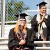 Graduate Julianne Feigenbutz is headed off into the Marine Corps.