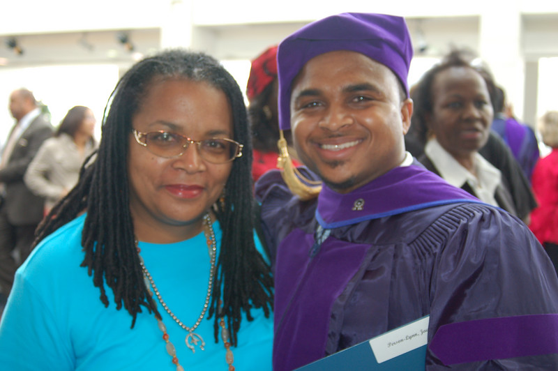 And here is is with him Mom.  <br /> <br /> Photo by Kwaku Person-Lynn