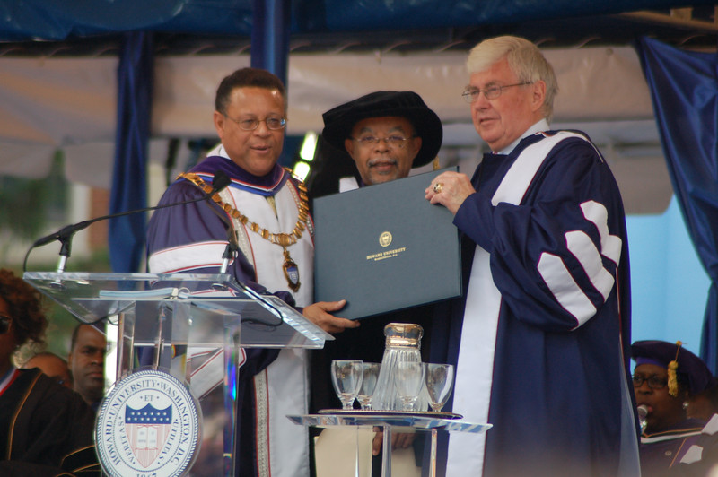 Henry Louis Gates (AKA Skip Gates) noted historian from Harvard) also received  <br /> <br /> Photo by Isidra Person-Lynn