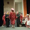 140627 JOED VIERA/STAFF PHOTOGRAPHER-Pendleton, NY-Starpoint graduates walk across the graduation stage to recieve their diplomas. June 27, 2014