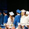 140628 JOED VIERA/STAFF PHOTOGRAPHER-Buffalo, NY-Newfane graduates walk to get their diplomas at UB's Center for the Arts. June 28, 2014