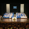 140628 JOED VIERA/STAFF PHOTOGRAPHER-Buffalo, NY-Newfane graduates and thier family sit during Newfane's graduation ceremony at UB's Center for the Arts. June 28, 2014