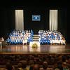 140628 JOED VIERA/STAFF PHOTOGRAPHER-Buffalo, NY-Newfane graduates and thier family sit during Newfane's graduation ceremony at UB's Center for the Arts. June 28, 2014
