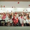 140627 JOED VIERA/STAFF PHOTOGRAPHER-Pendleton, NY-Starpoint graduates move their tassles and throw their caps. June 27, 2014