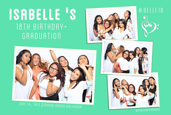 Isabelle's 18th Birthday + Grad Party (Fusion Portraits)