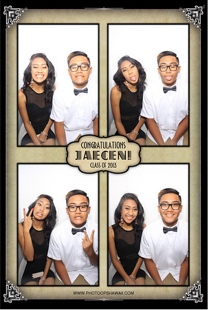 Jaecen's Grad Party (Luxe Photo Booth)