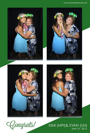 Kimi + Evan's Grad Party (Stand Up Photo Booth)