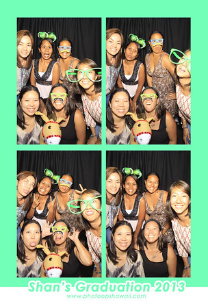 Shan's Graduation Party (Stand Up Photo Booth)