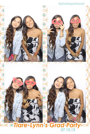 Tiare Lynn's Graduation Party (Luxe Photo Booth)