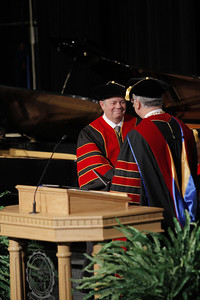 Receiving Doctorate