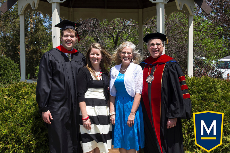 Graduation with President TM 002