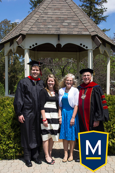 Graduation with President TM 003