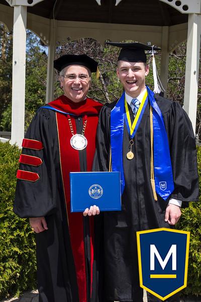 Graduation with President TM 015