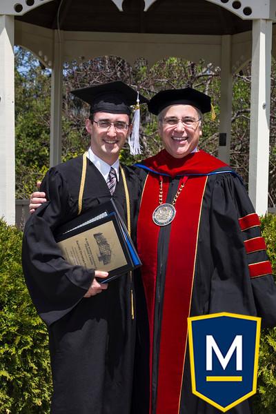 Graduation with President TM 011