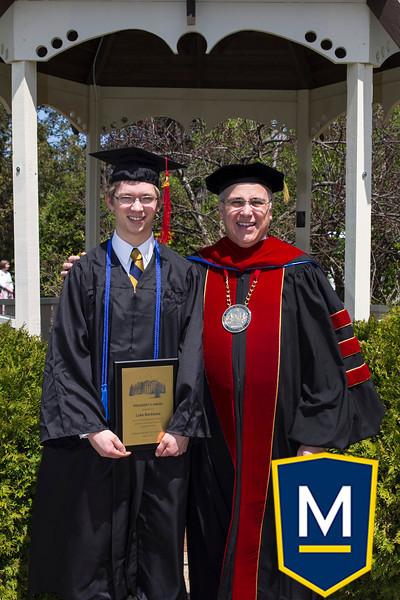 Graduation with President TM 005