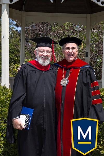 Graduation with President TM 006