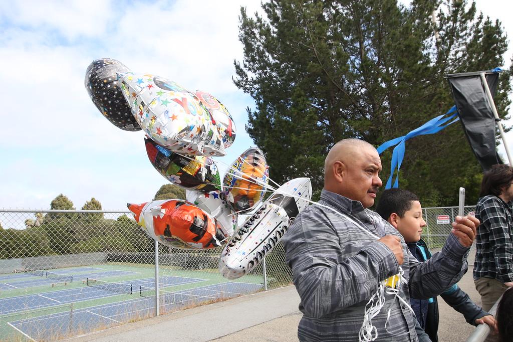 . Cabrillo College graduation. (Dan Coyro -- Santa Cruz Sentinel)