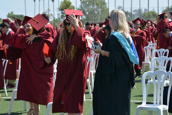 2015 Estancia HS Graduation