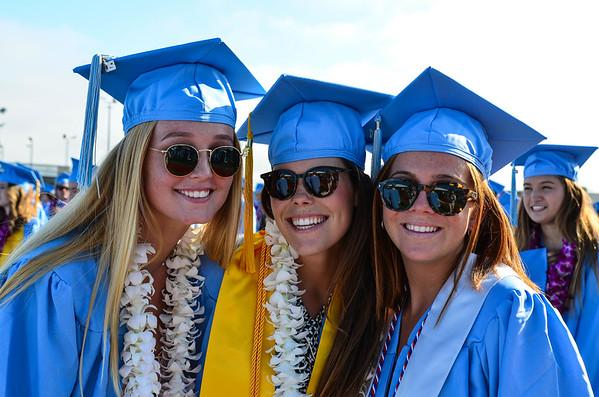 2017 Corona del Mar High School Graduation