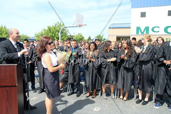 McCaffrey Middle Promotion 2015
