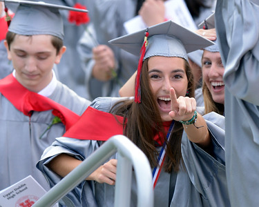 06_08_15 Upper Dublin High School graduation 2015