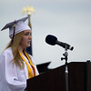 "Nicole Hetzel gave a speech titled ""Plastic Chairs"" as Upper Moreland High School holds its graduation ceremony for the Class of 2015 on Monday, June 8, 2015. Amanda Nolan - For Montgomery Media"