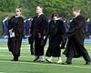 Lyn Fields attends her last Wissahickon graduation as principal.<br /> Bob Raines--Montgomery Media
