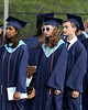 """The faces say, """"I sooo love standing in line,"""" as Wissahickon graduates the Class of 2015<br /> Bob Raines--Montgomery Media"""
