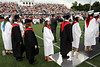 Bob Raines--Montgomery Media<br /> Members of the Class of 2015 line up to receive their diplomas during the William Tennent High School graduation ceremony June 17, 2015.