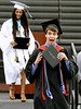 Bob Raines--Montgomery Media<br /> This new graduate looks pleased as he leaves the stage during the William Tennent High School commencement ceremonyJune 17, 2015.